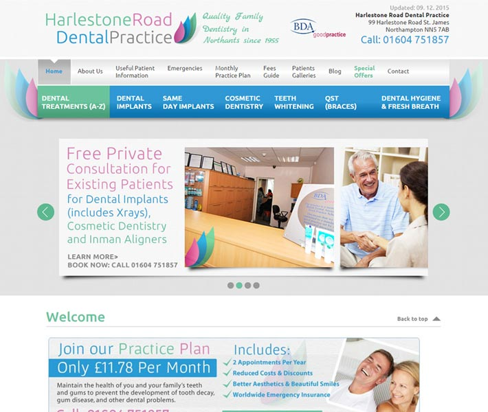 www.harlestonedental.co.uk