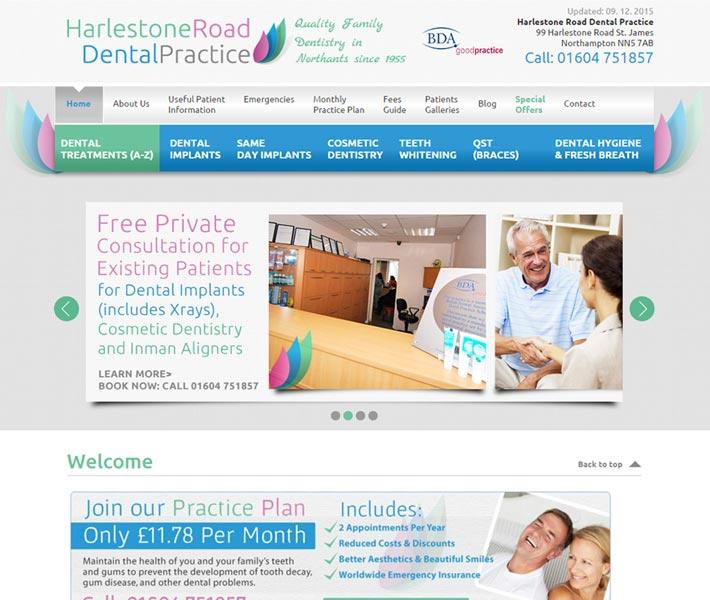 www.harlestonedental.co.uk