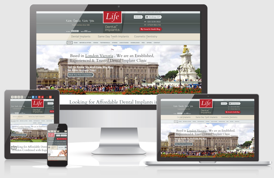 Life Mobile Friendly Website