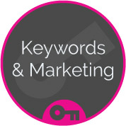 keywords & marketing seo onsite optimisation web page