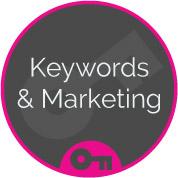 keywords & marketing seo onsite optimisation web page
